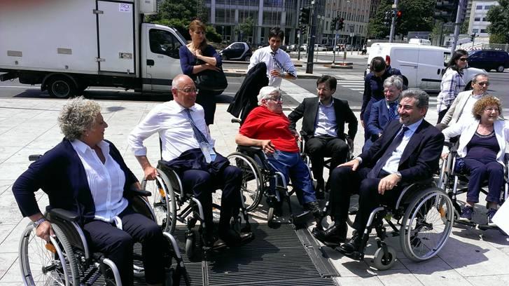 Nei panni delle persone con disabilità
