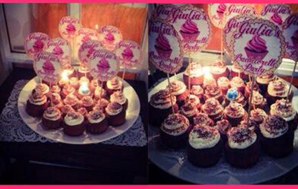cupcakes torta addio al nubilato