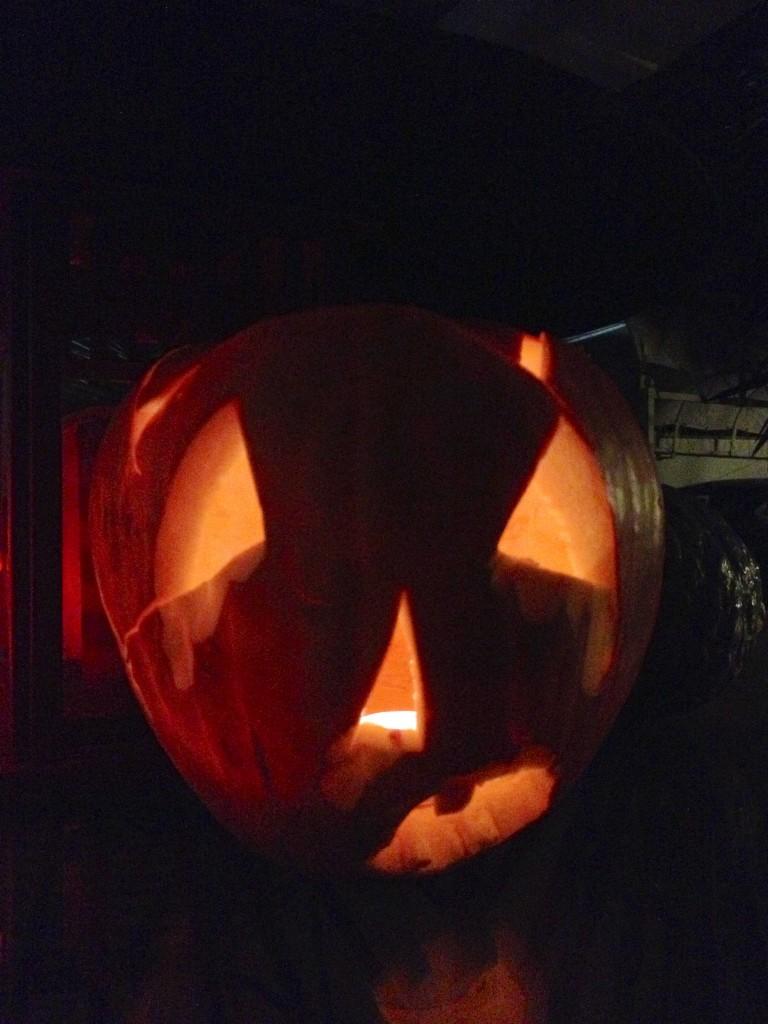 zucca insanguinata halloween