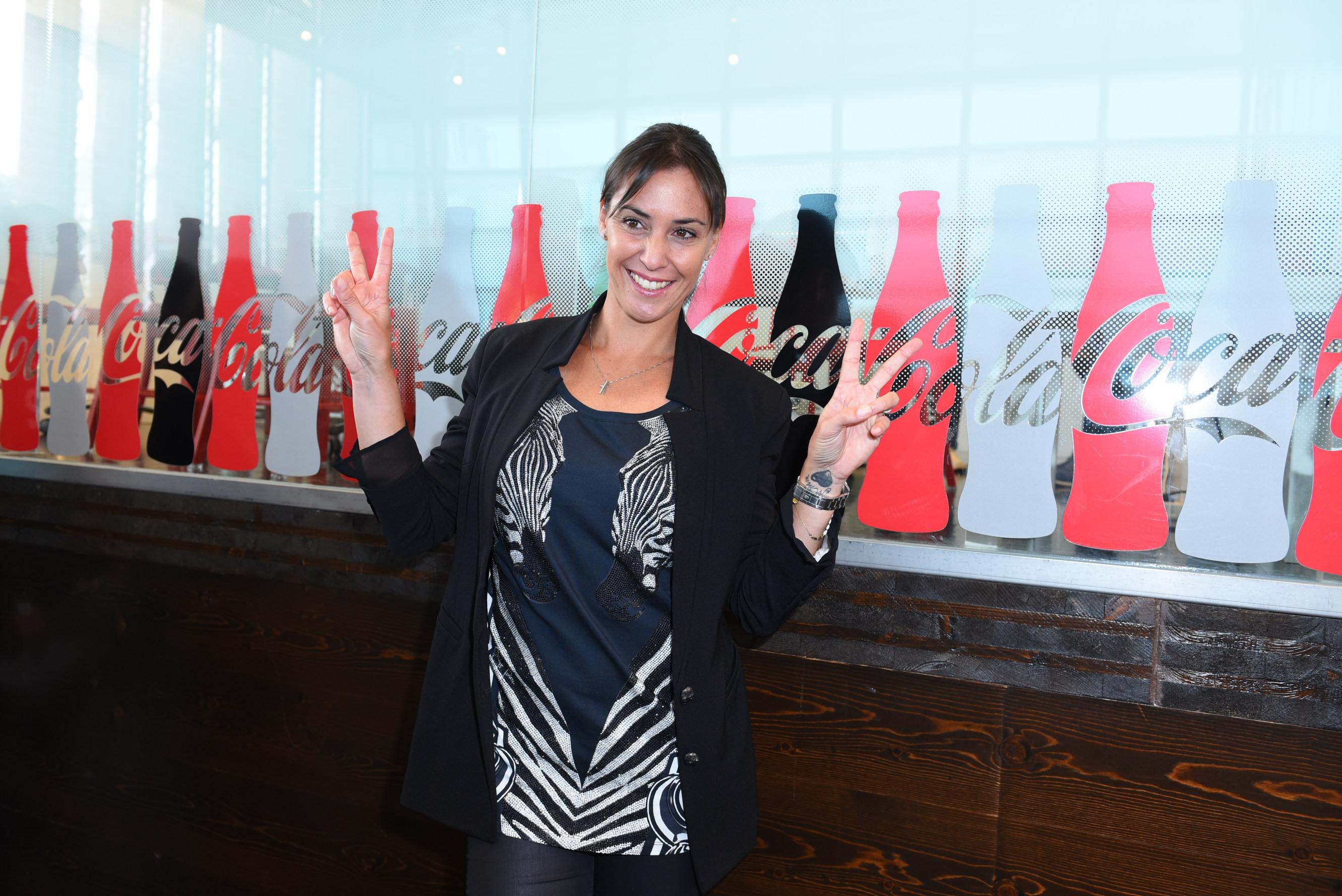 Flavia Pennetta@Padiglione Coca Cola