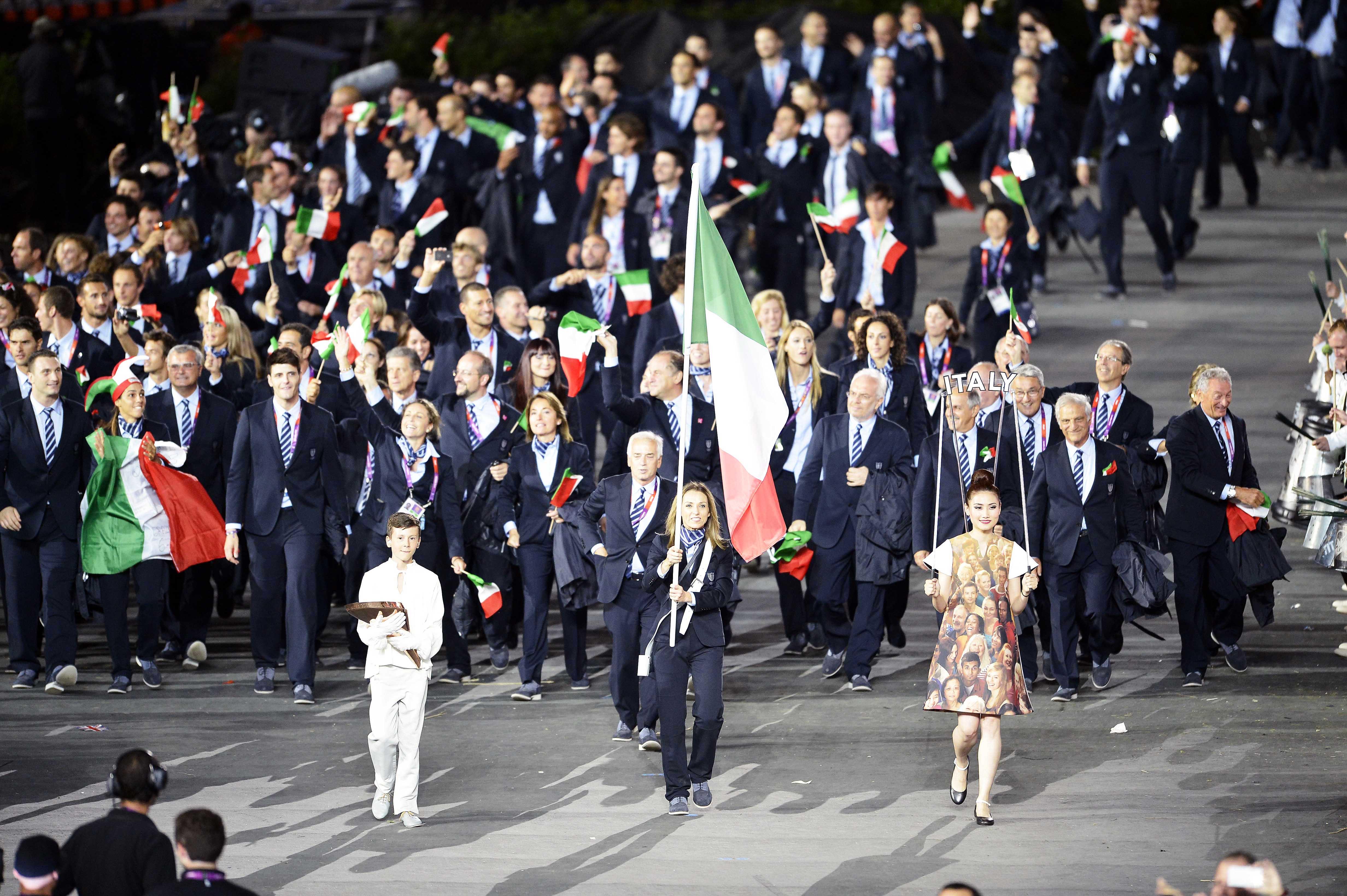 Il Team Italia al gran completo!
